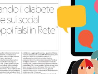Brand Reporter Lab con Sanofi firma la prima ricerca sulle fake news sul diabete online. Rassegna Stampa